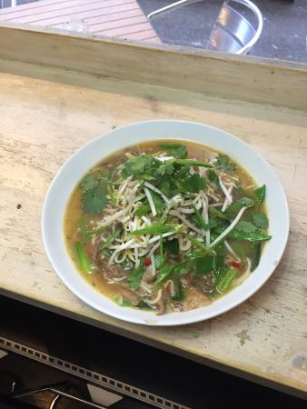 Mamma's: Duck noodle broth