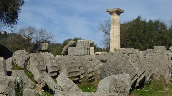 Olympia Kuno: Templo de Zeus