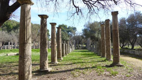 Olympia Kuno: Recinto arqueológico de Olimpia