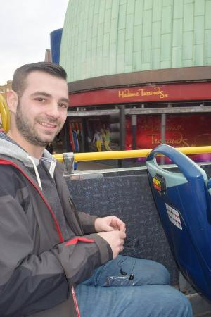 London, UK: on the bus tour