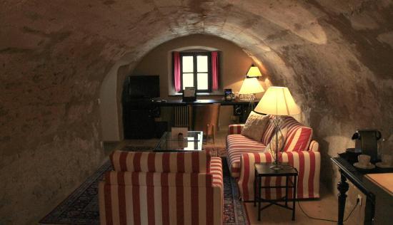 Hotel Burg Wernberg: ... wie seinerzeit, aber mit viel Atmosphäre.