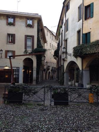 Quartiere dell'Antico Ghetto Ebraico di Padova: Particolare di Via