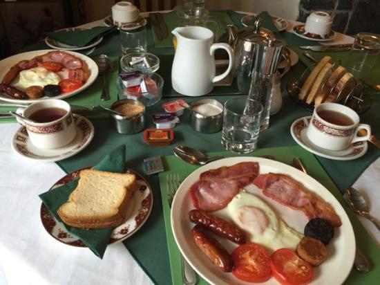 Salmon Leap Farm: Petit déjeuner