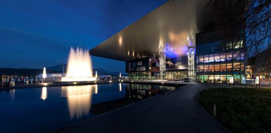 KKL Luzern - Lucerne Culture and Convention Centre : KKL Luzern