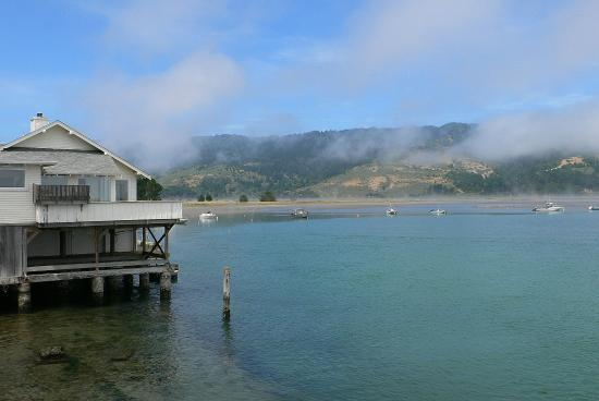 Olema, Kalifornia: at the lagoon