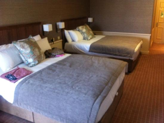 Rosses Point, Ирландия: Two very large new beds.