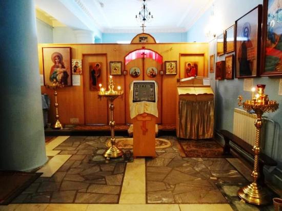 Храм в честь иконы Божией Матери Целительница