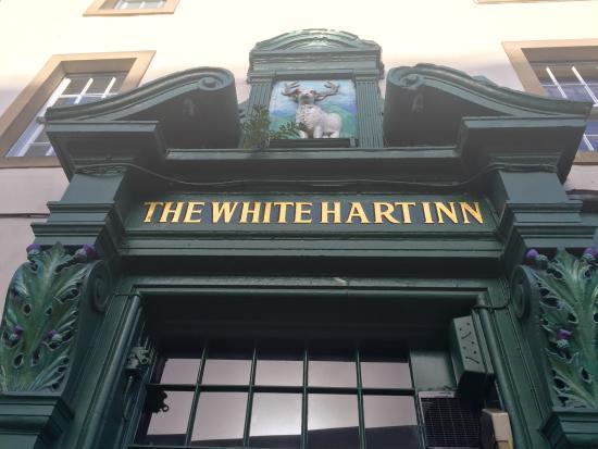 Photo of Bar The White Hart Inn Restaurant at 34 Grassmarket, Edinburgh eh12ju, United Kingdom