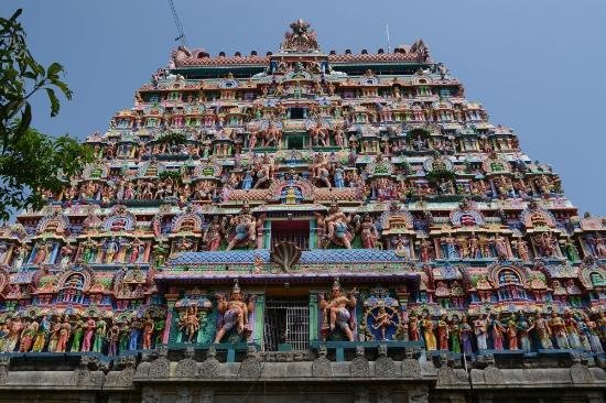 Chidambaram, الهند: Tempel von Chidambaram