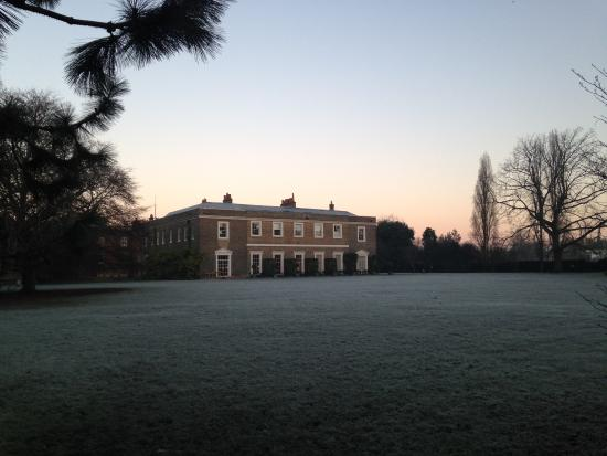 Fulham Palace: Winter day main lawn