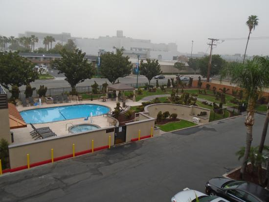 picture of pool area taken from outside my room best western plus rh tripadvisor com