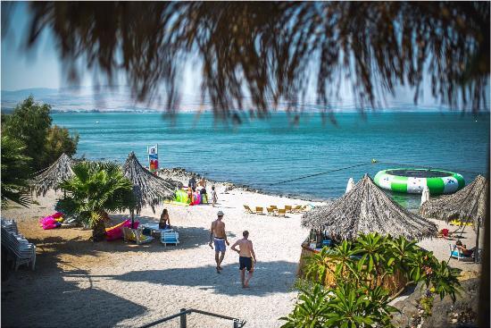 Bora Bora Beach Bar: the beach