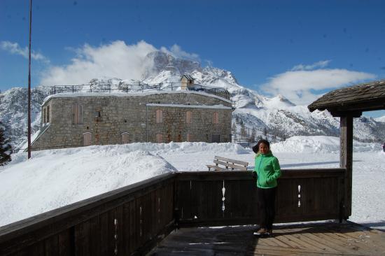 io e il panorama dal Vallandro