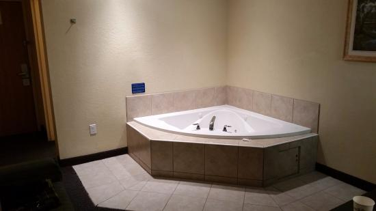Microtel Inn & Suites by Wyndham Ocala: Jacuzzi Tub
