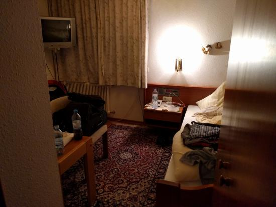 Hotel Edelweiss : Single room, small but comfortable