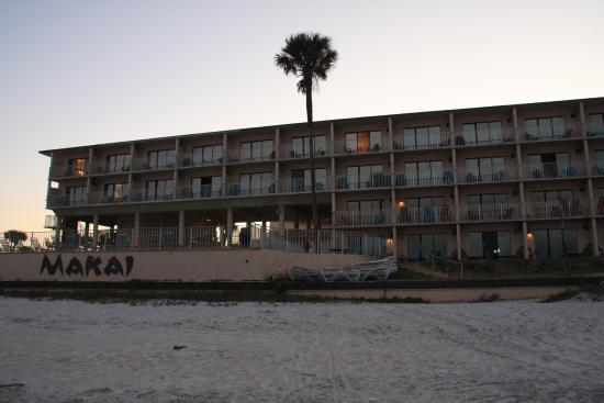 looking back at the hotel from the beach picture of makai beach rh tripadvisor com