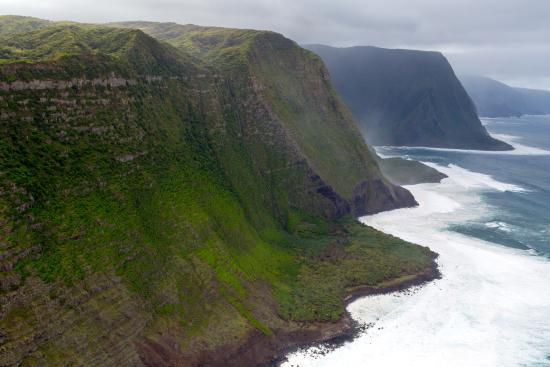Paia, هاواي: Molokai Cliffs