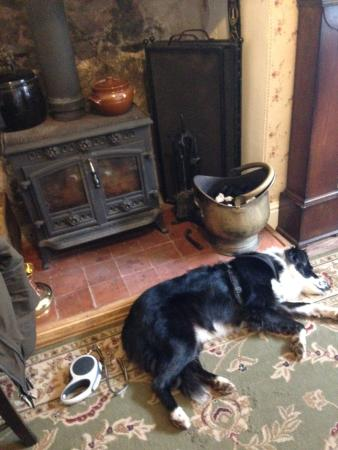 Mrs Jackson's Victorian Tea Rooms: Cozy in front of the fire