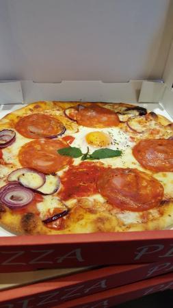 Bella Rosa : Pizza capri