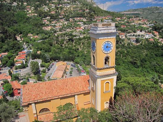 From Castle Terrace Village Church Below Fragonard Perfume