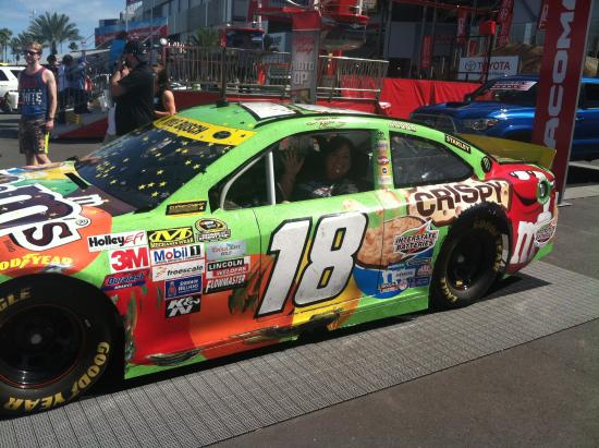 fans could sit in the cars on display at the daytona 500 picture rh tripadvisor com