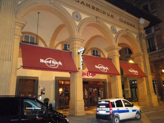 Hard Rock Cafe Florence Breakfast