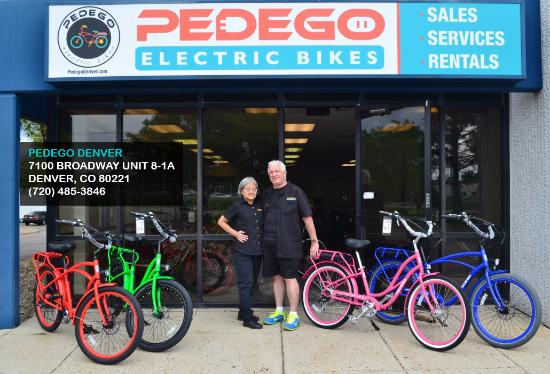 Pedego Electric Bikes Denver