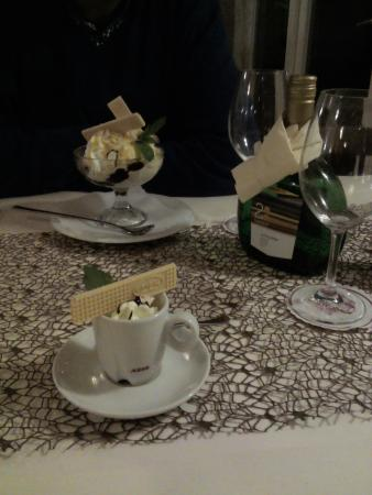Bad Laer, Germania: Desert, the end of a nice meal