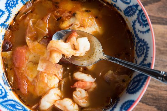 Las Brisas Mexican Restaurant: Caldo de Mariscos