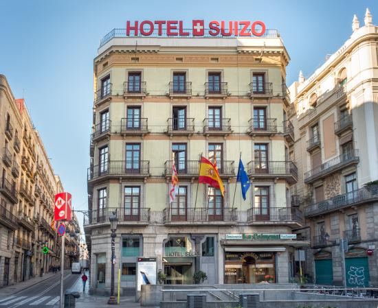 Hotel suizo updated 2018 prices reviews barcelona for Hotel de paris barcelona