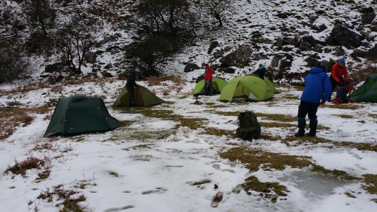 Half Moon Inn: Fantastic place for a bit of wild camping