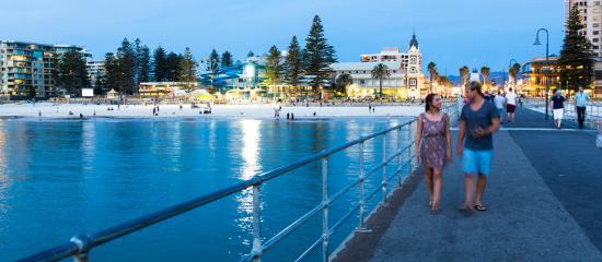 Adelaide, Australien: Glenelg