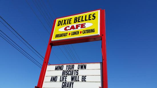 Dixie Belles Cafe: Funny photo
