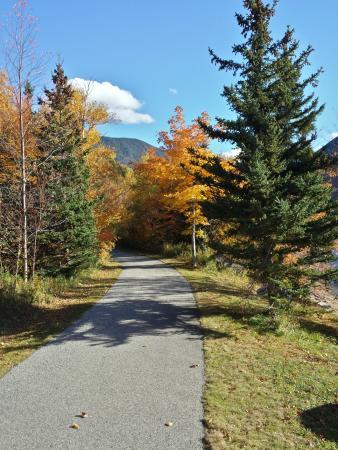 Franconia, NH: Recreational trail