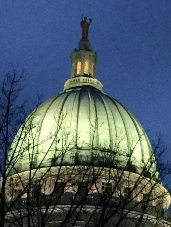 capital in lights picture of wisconsin state capitol madison rh tripadvisor com