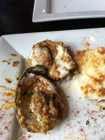 Great grilled oysters!