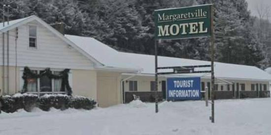 Margaretville Motel: winter