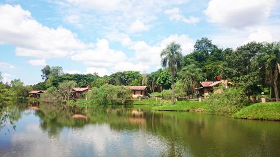 Paraiso Golf Ranch Resort & Spa: Bungalows vista al lago