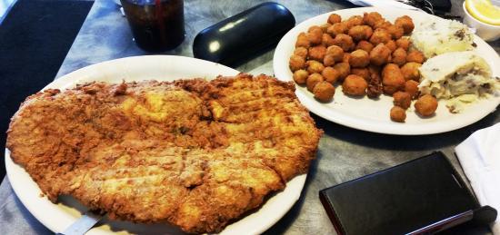Lulu S Cafe San Antonio Chicken Fried Steak
