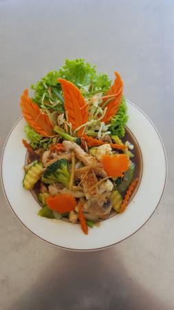 Thai Container: Ginger Chicken