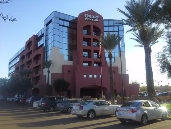 exterior picture of drury inn suites phoenix airport phoenix rh tripadvisor com