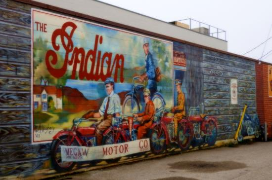 Vernon, Canada: Downtown wall paintings