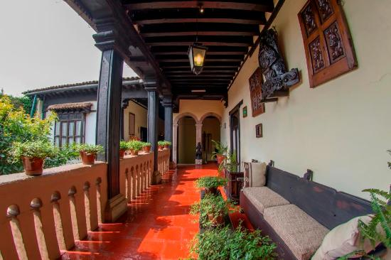 Hotel Mansion Iturbe: Pasillo Habitaciones