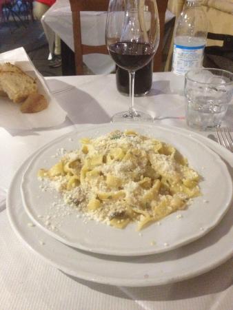 Porcini Mushroom Fettuccine Recipe — Dishmaps
