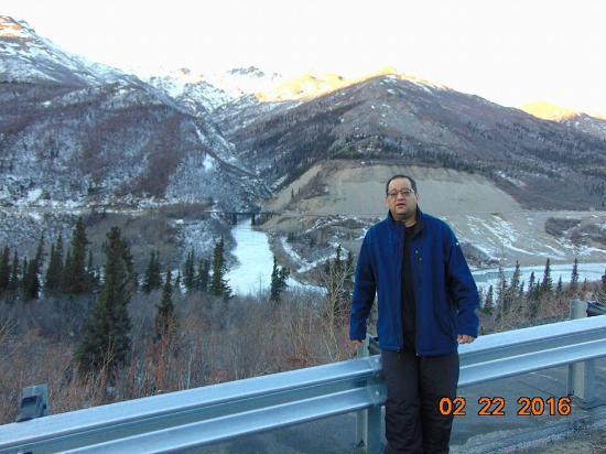 Nenana, AK: Fantástico rio nenena