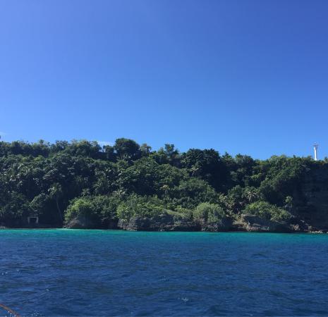 Limasawa Island: Limawasa coral garden point