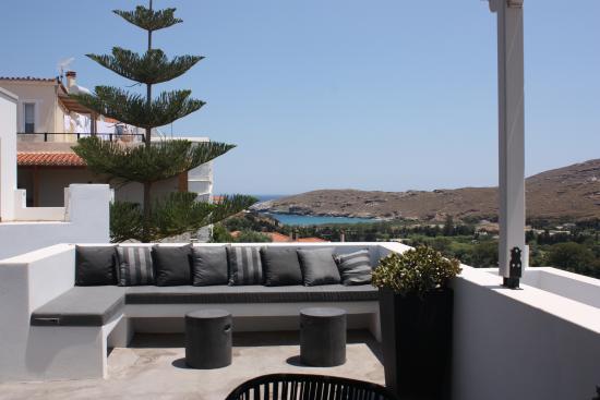 Edem Suites: Lava - terrace view