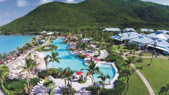Anse Marcel, St. Maarten: Resort View
