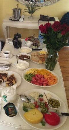 Cape Heritage Hotel: Breakfast on special request