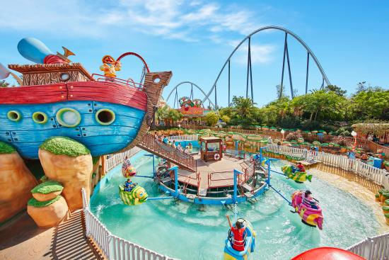 PortAventura Hotel Caribe Resort Salou Espagne Voir Les Tarifs - Hotel caraibes port aventura